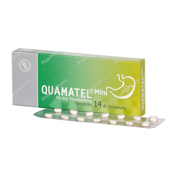 Quamatel Mini 10 mg filmtabletta 14x289701 2016 tn